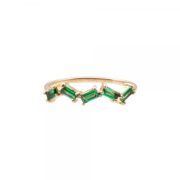 5823Ring_cherie_zigzag_green