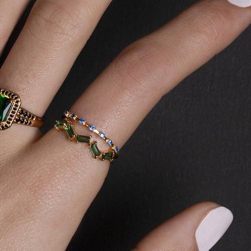 5857Ring_cherie_zigzag_green