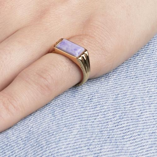5862Ring_cherie_rectangle_marble_lilac
