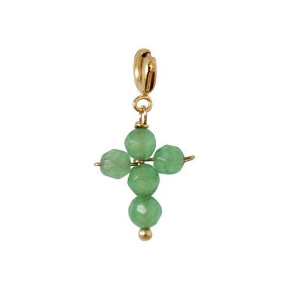 Charm_Cross_green