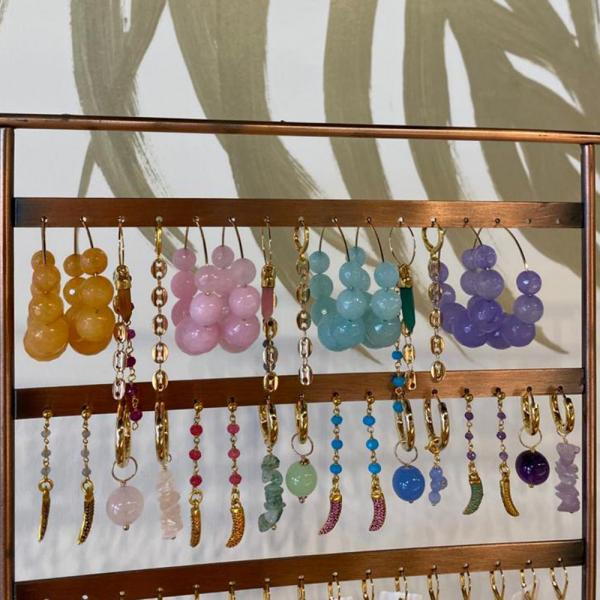 Earrings_mix_purple_and_orange_1