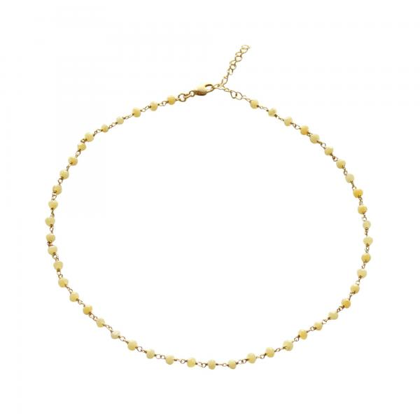 Ketting_yellow_small_stones